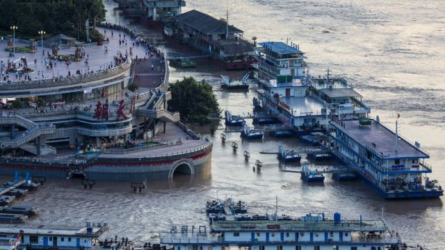 Flooding in Chongqing (14 Aug)