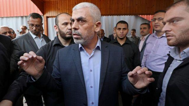 یحیی السنوار، از رهبران حماس