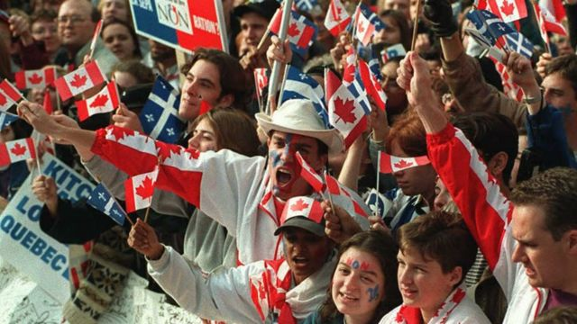 Protesta en Quebec, Canadá. (Foto: Josep Lago/AFP/Getty Images)