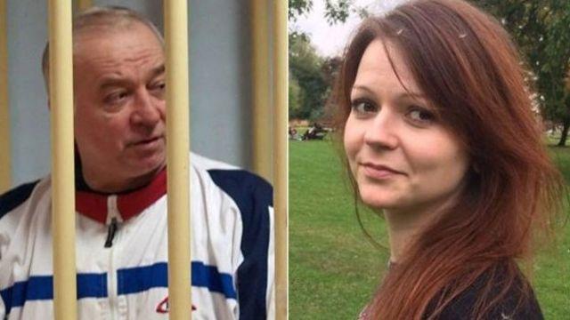 جاسوس سابق روس و دخترش