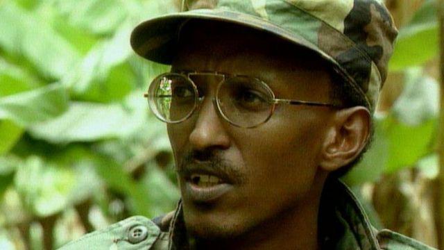 Paul Kagame, hoje presidente de Ruanda