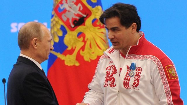 Путин и Демченко