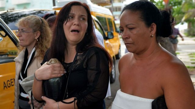 Familiares de víctimas
