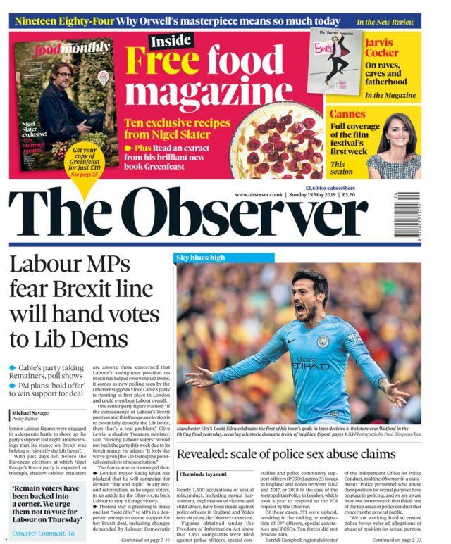 Newspaper headlines: Lib Dems 'detoxify' and MP in spy claim