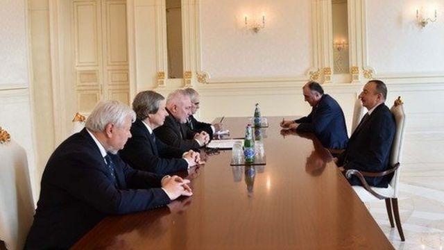 Minsk qrupu həmsədrləri ilə görüş