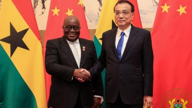 China sign 8 agreement to improve Ghana economy.