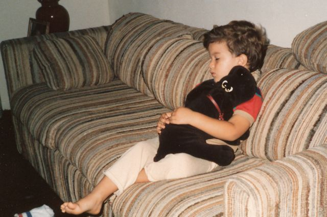Салинас в детстве