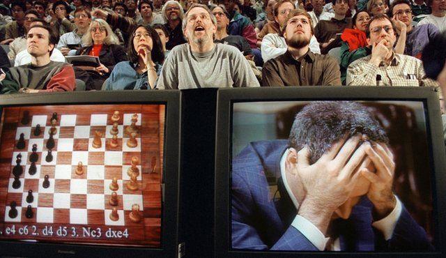 Deep Blue versus Kasparov