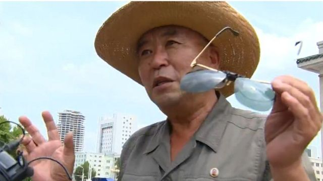 The Korean citizen from Pyongyang who said that