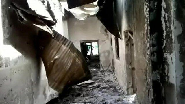 Inside MSF hospital in Kunduz
