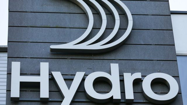 Hydro логотип