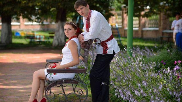 Виктория и Богдан Пантюшенко после свадьбы (фото из аккаунта Виктории Пантюшенко воспроизводится с ее согласия)
