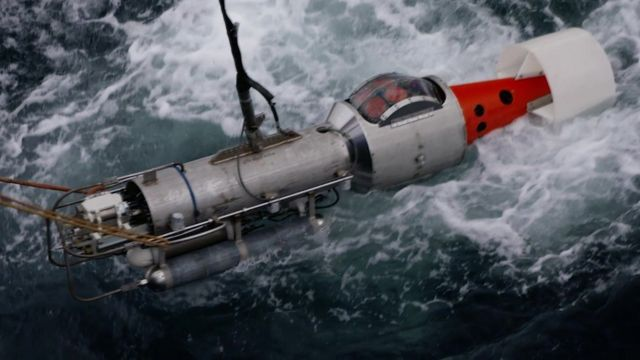 instrument landing in the water