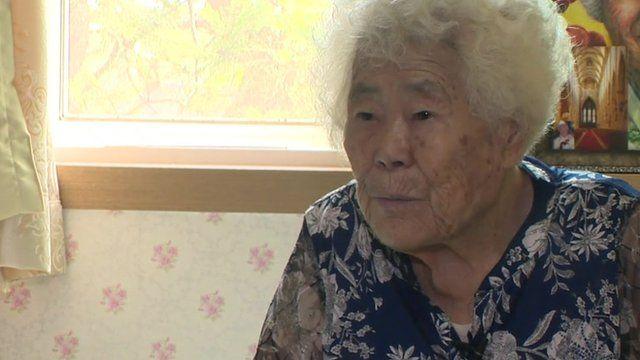 Former comfort woman Lee Ok Seon