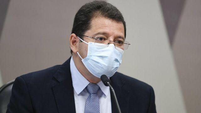 Ex-secretário de Saúde do Amazonas, Marcellus Campêlo
