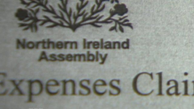 Assembly expenses claim form