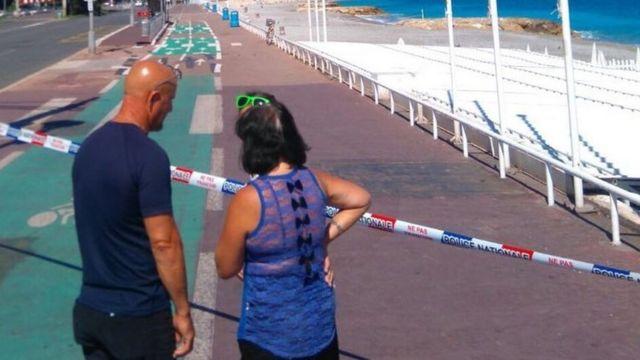 Promenade des Anglais ficou interditada nesta sexta-feira