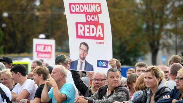 """Количество сторонников """"Шведских демократов"""" за последние 8 лет существенно возросло"""