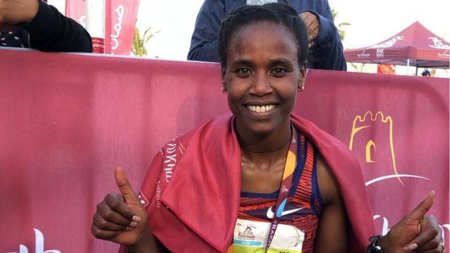 L'Ethiopienne Ababel Birhane