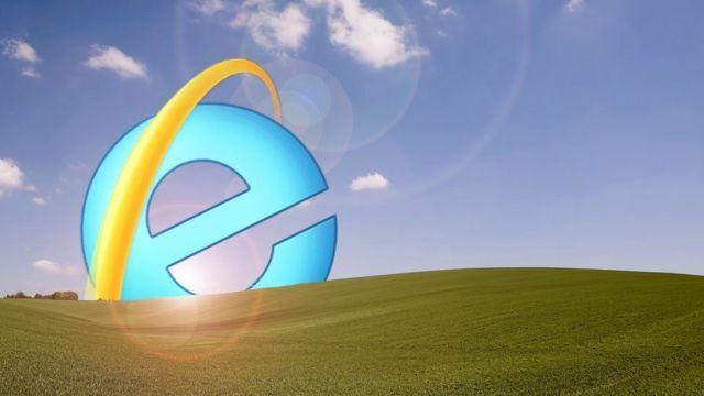 Internet Explorer bir güneş gibi batarken