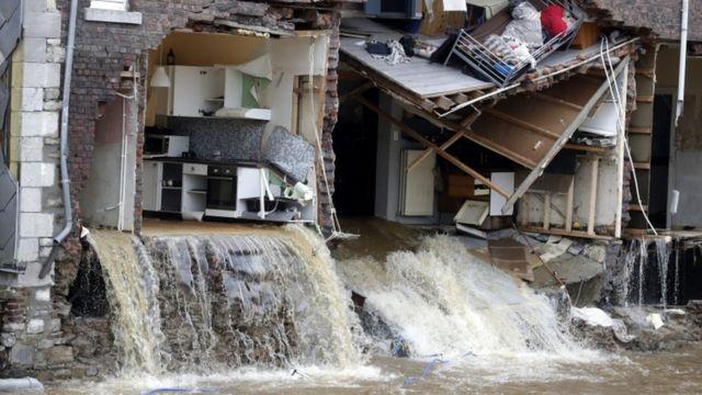 Inundaciones en Europa: por qué la ciencia aún no puede pronosticar  inundaciones extremas como las de Alemania y Bélgica - BBC News Mundo