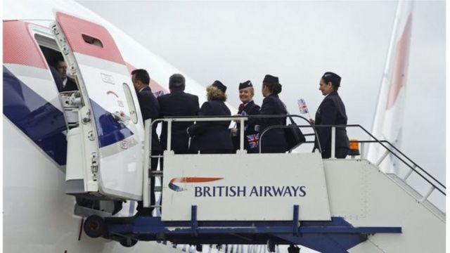 طاقم طيران في الخطوط الجوية البريطانية