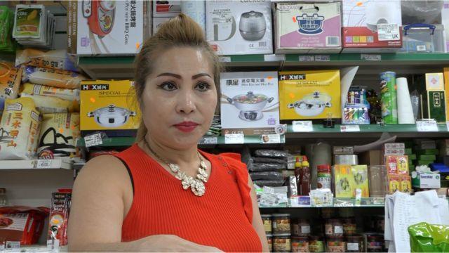Bà Đào Thị Nghĩa, chủ siêu thị London Starnight