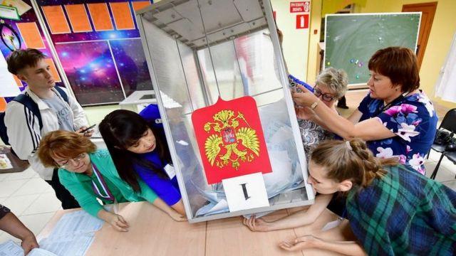 В России состоялся единый день голосования