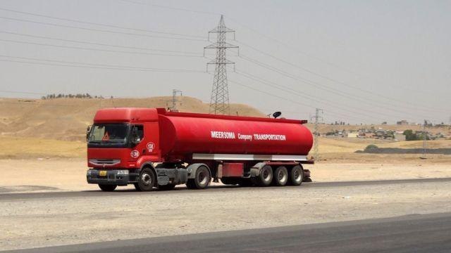 Irak petrol kamyonu