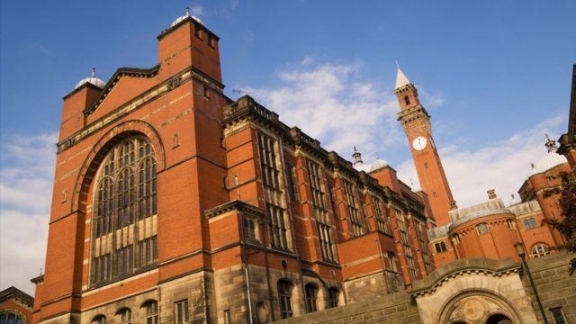 Universidad de Birmingham.