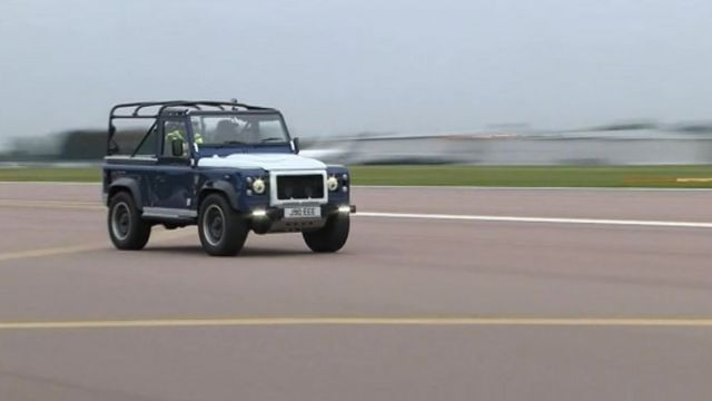 The JE Zulu is given a test run at Coventry Airport