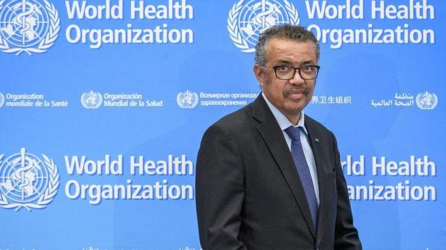 Dr Tedros Adhanom