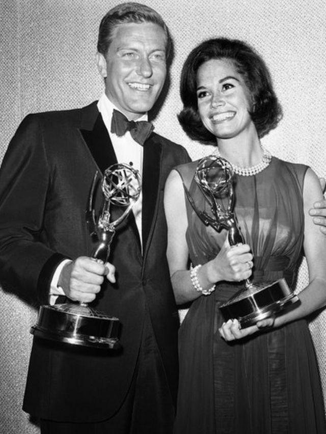 Dick van Dyke y Mary Tyler Moore