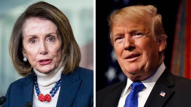 Pelosi cancels Afghan trip after Trump 'leaks' security details