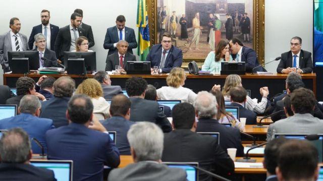 Plenário da Comissão de Constituição e Justiça