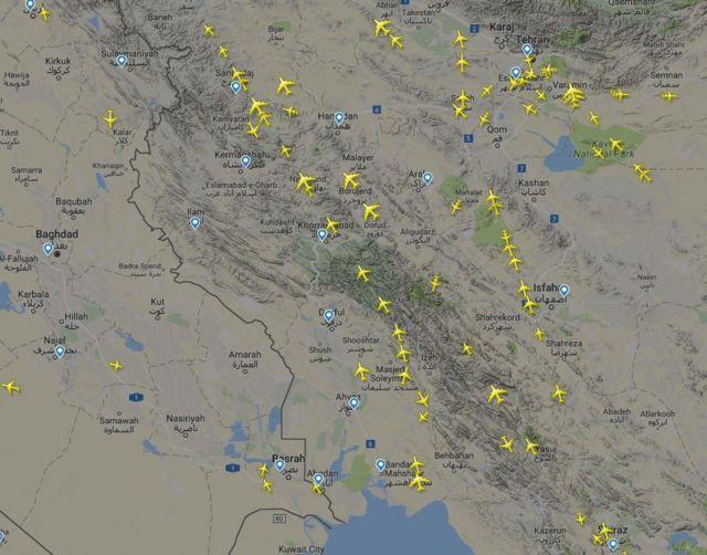 حریم هوایی ایران