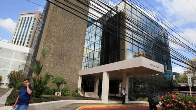 ساختمان شرکت موساک فونسکا در پاناما سیتی