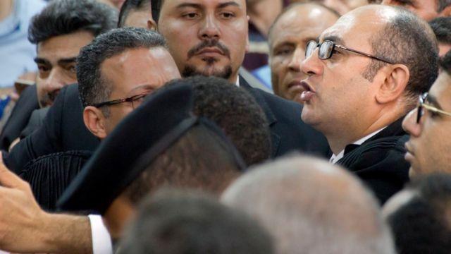 صورة خالد علي المحامي الذي رفع الدعوى