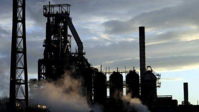 Port Talbot steel plant