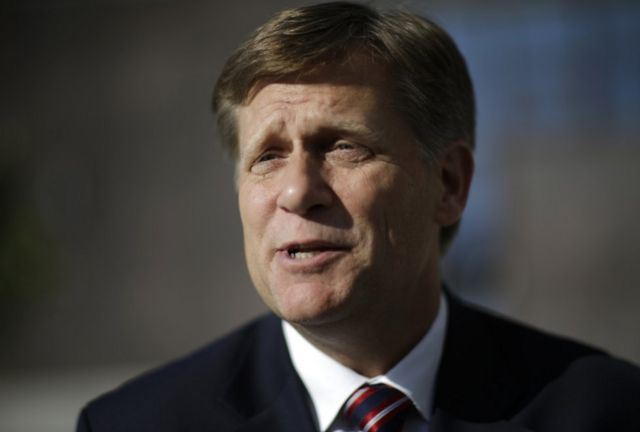 Michael McFaul, US ex-ambassador, banned from entering Russia