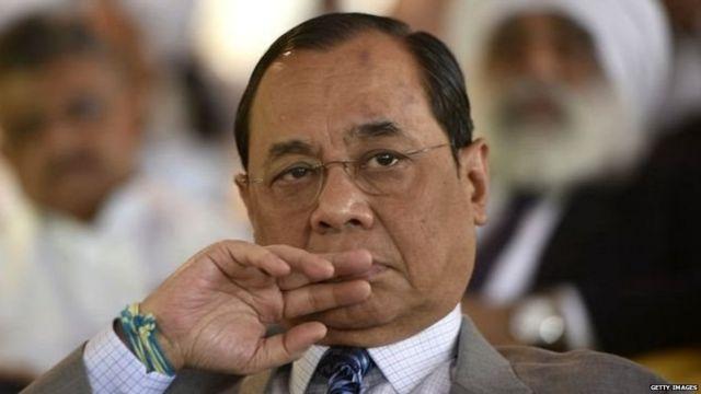 भारत के मुख्य न्यायाधीश रंजन गोगोई
