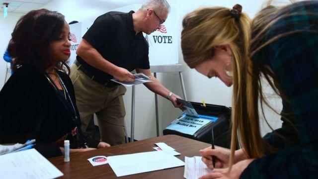 Tỷ lệ người đi bầu trong cuộc bầu cử giữa kỳ năm nay đạt mức kỷ lục