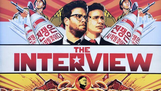 为阻止索尼发布新电影《采访》(讲述的是刺杀朝鲜最高领导人金正恩的虚构故事),朝鲜黑掉了索尼的网络