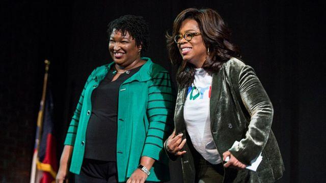 Oprah Winfrey vận động tranh cử với ứng cử viên đảng Dân chủ Stacey Abrams