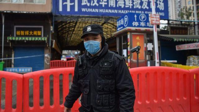 Polisi di Wuhan