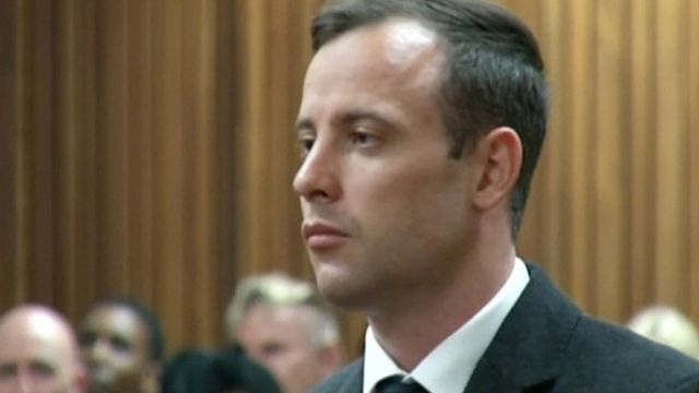Oscar Pistorius is sentenced in court