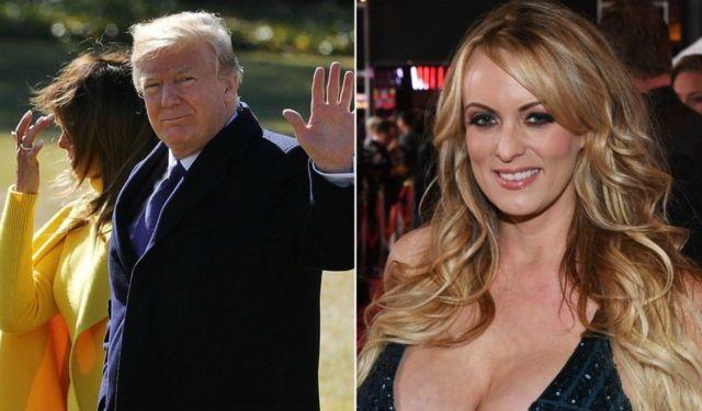 Trump dan Stormy Daniels