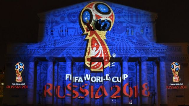 Logo oficial del Mundial Rusia 2018