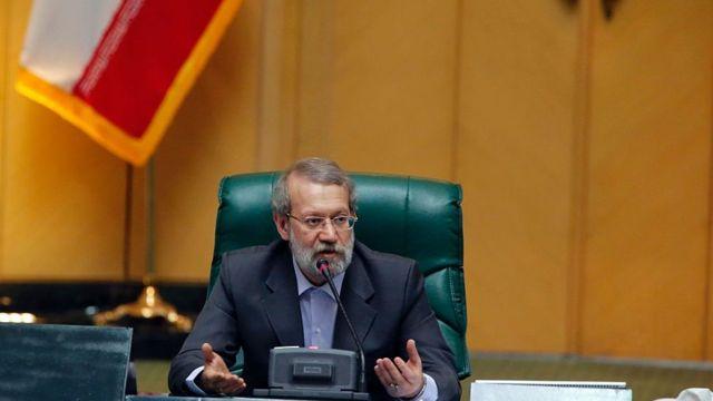 علی لاریجانی رئیس مجلس ایران