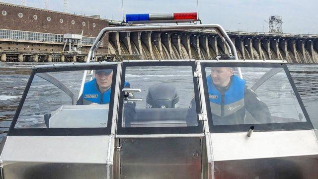 Полиция на воде